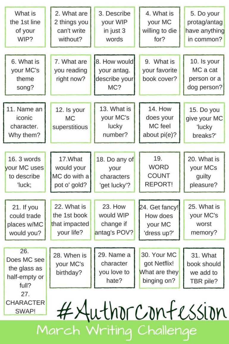 #authorconfession