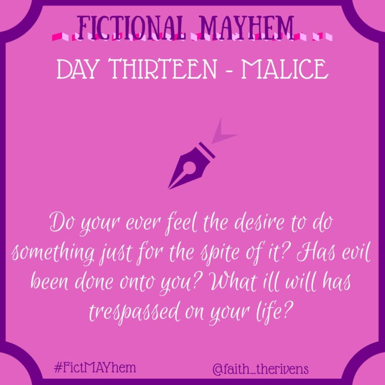 FictMAYhem Day 13