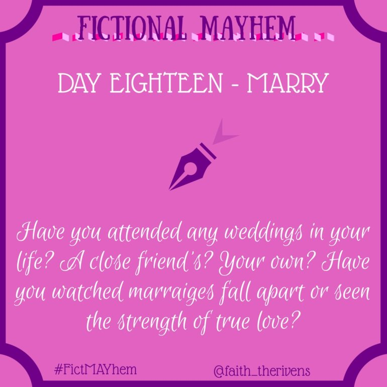 FictMAYhem Day 18