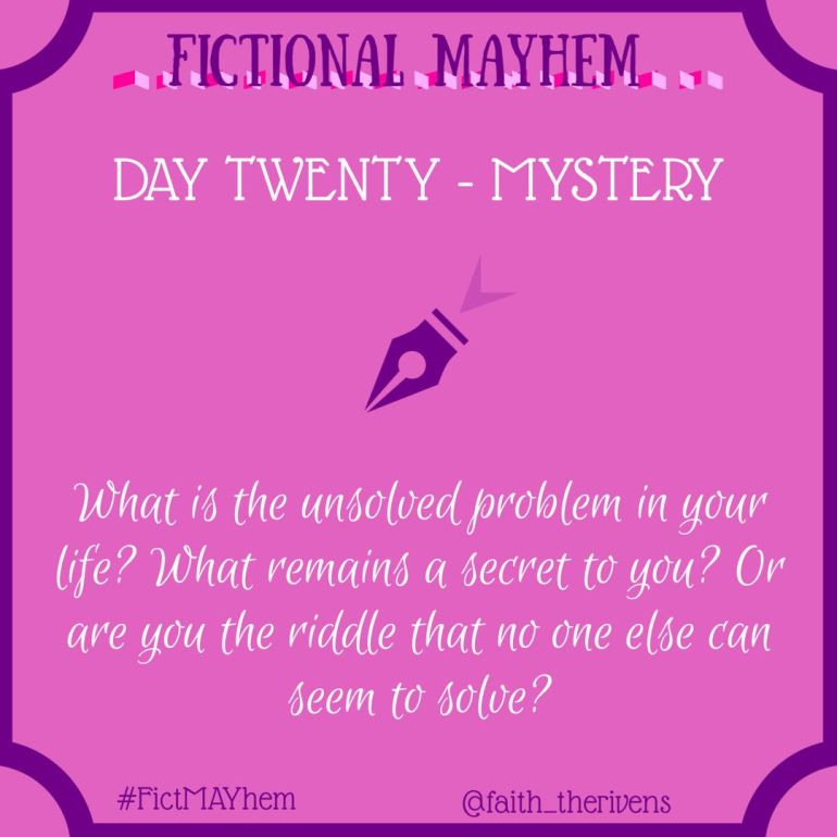 FictMAYhem Day 20