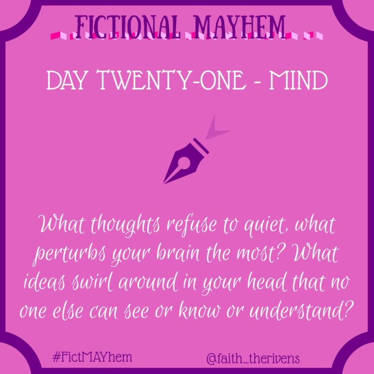 FictMAYhem Day 21
