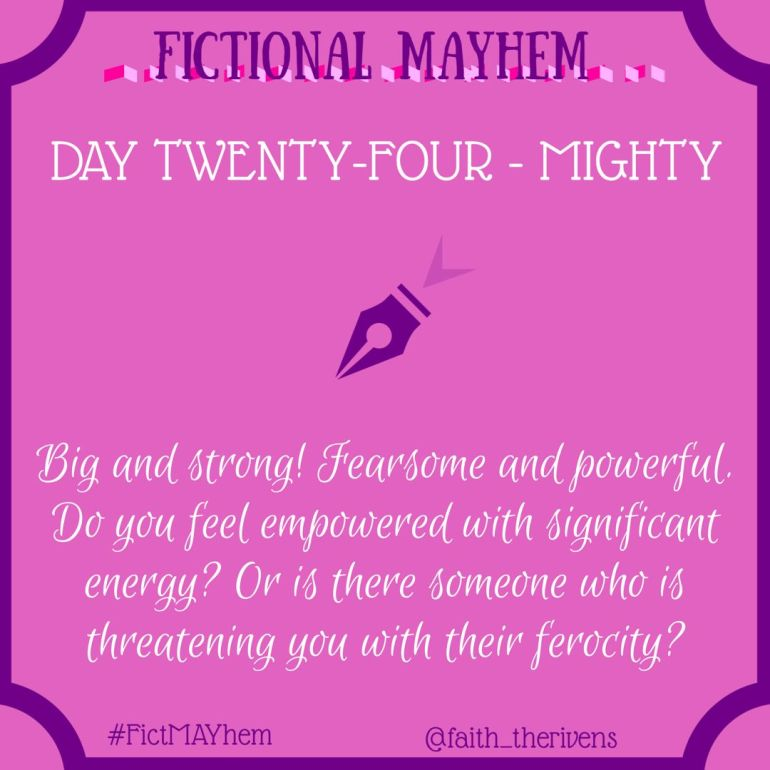 FictMAYhem Day 24