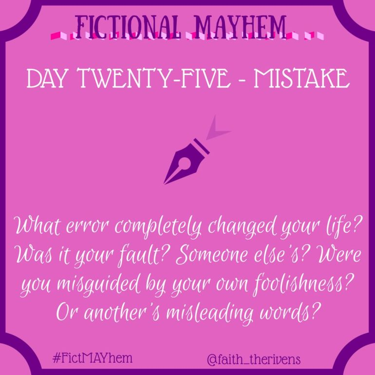 FictMAYhem Day 25