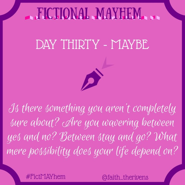 FictMAYhem Day 30