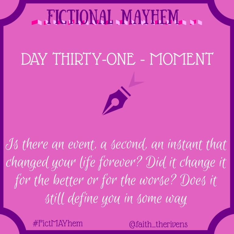 FictMAYhem Day 31