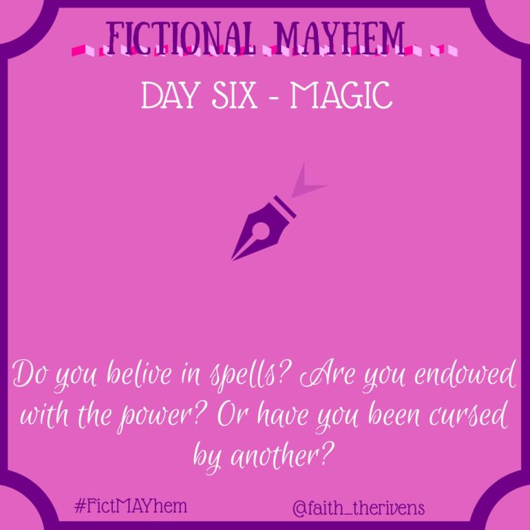 FictMAYhem Day 6
