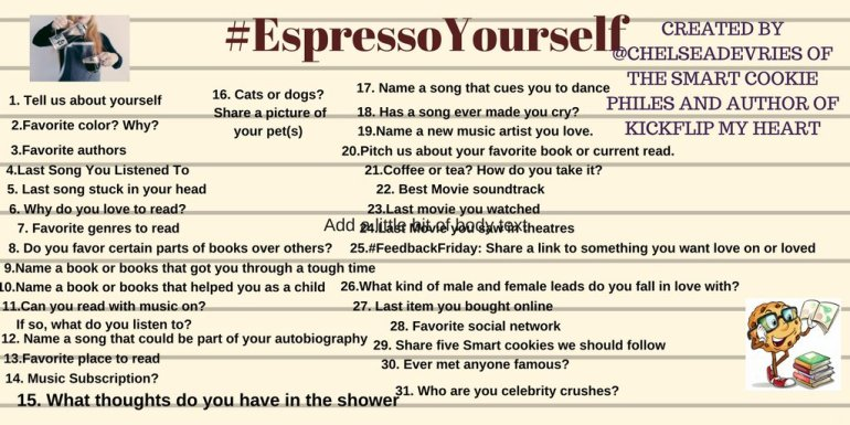 #ExpressoYourself - August