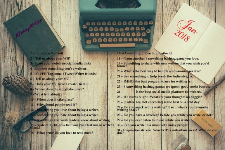 #TweepWriter - January